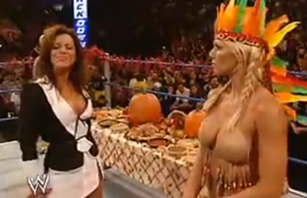 Butterfly reccomend Dawn marie shows tits on smackdown