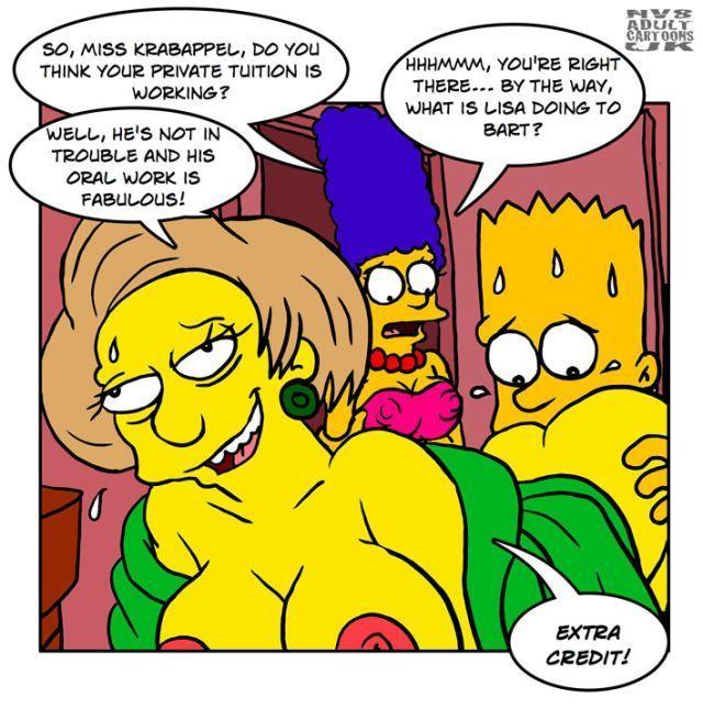 Edna krabapel naked remarkable