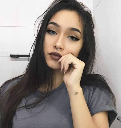 Sabriel reccomend Asian girl with pierced lip
