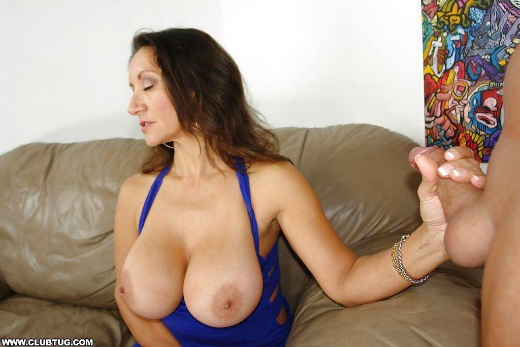 Big boob mature handjob movies