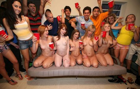 Thank Wild college party orgy