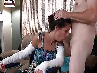best of Mothers clit slutload Son sucking