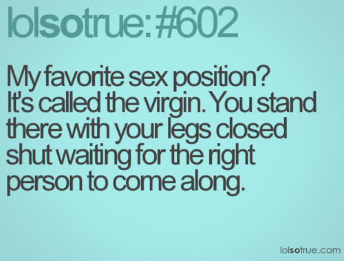 Mouse reccomend Favorite position virginity