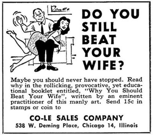 Wifes attitudes about sex