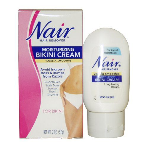Hair removal products for bikini area