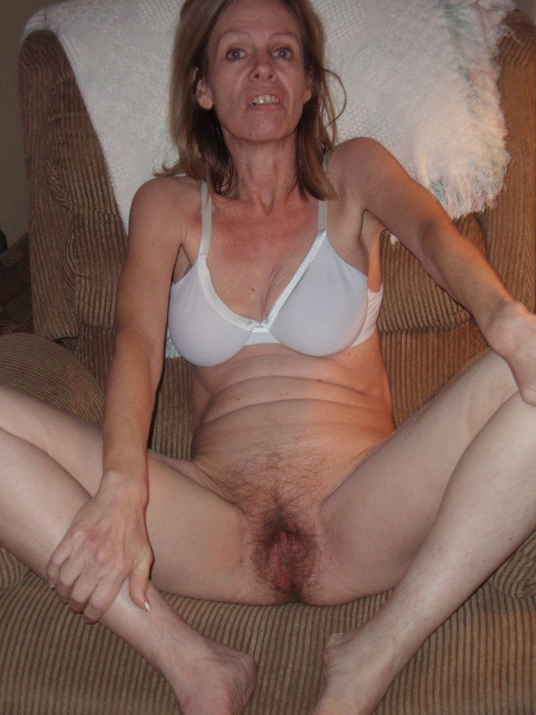 nude home looking Plain at mature amateur