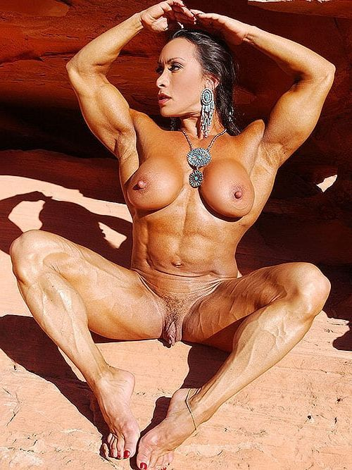 best of Clitoris Bodybuilding women