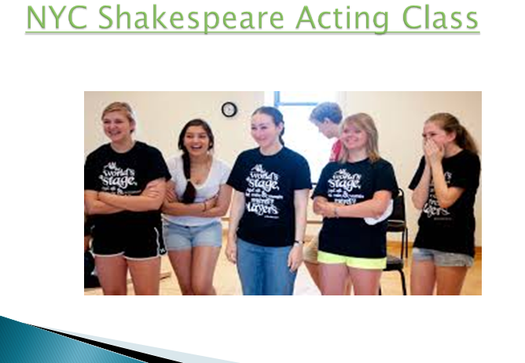 Amateur acting classes