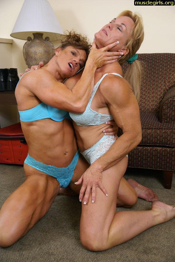 Flexible lesbian feet