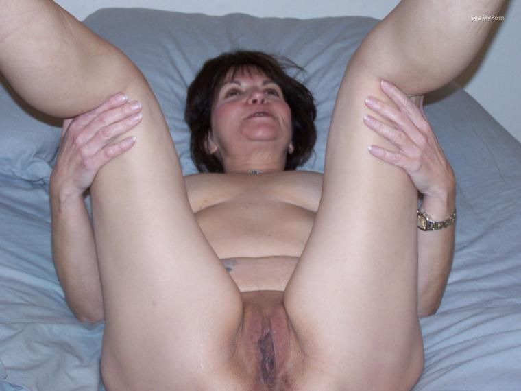 Son and old milf fuck