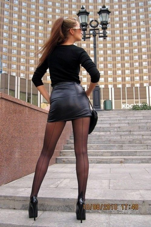 Spider reccomend Sexy women in short skirts and pantyhose