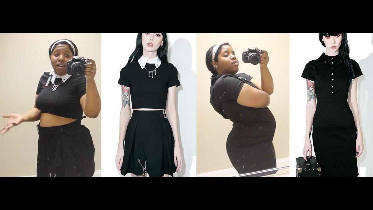 Free chubby goth