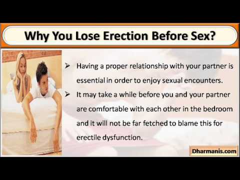Lose erection during penetration