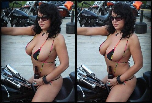 Biker chick orgy for that