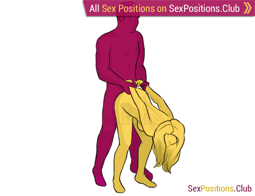 Remarkable, rather male dominate sex positions for