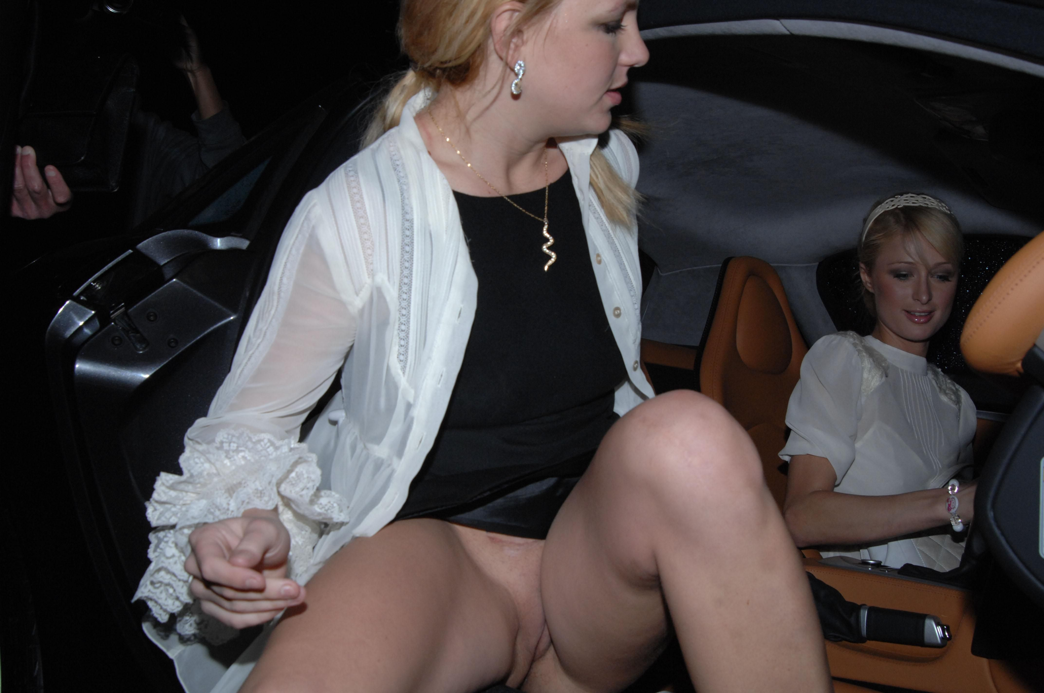 Britney pussy spear upskirt