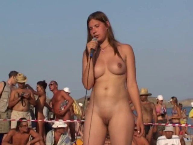 Opinion, Dancing nude in public