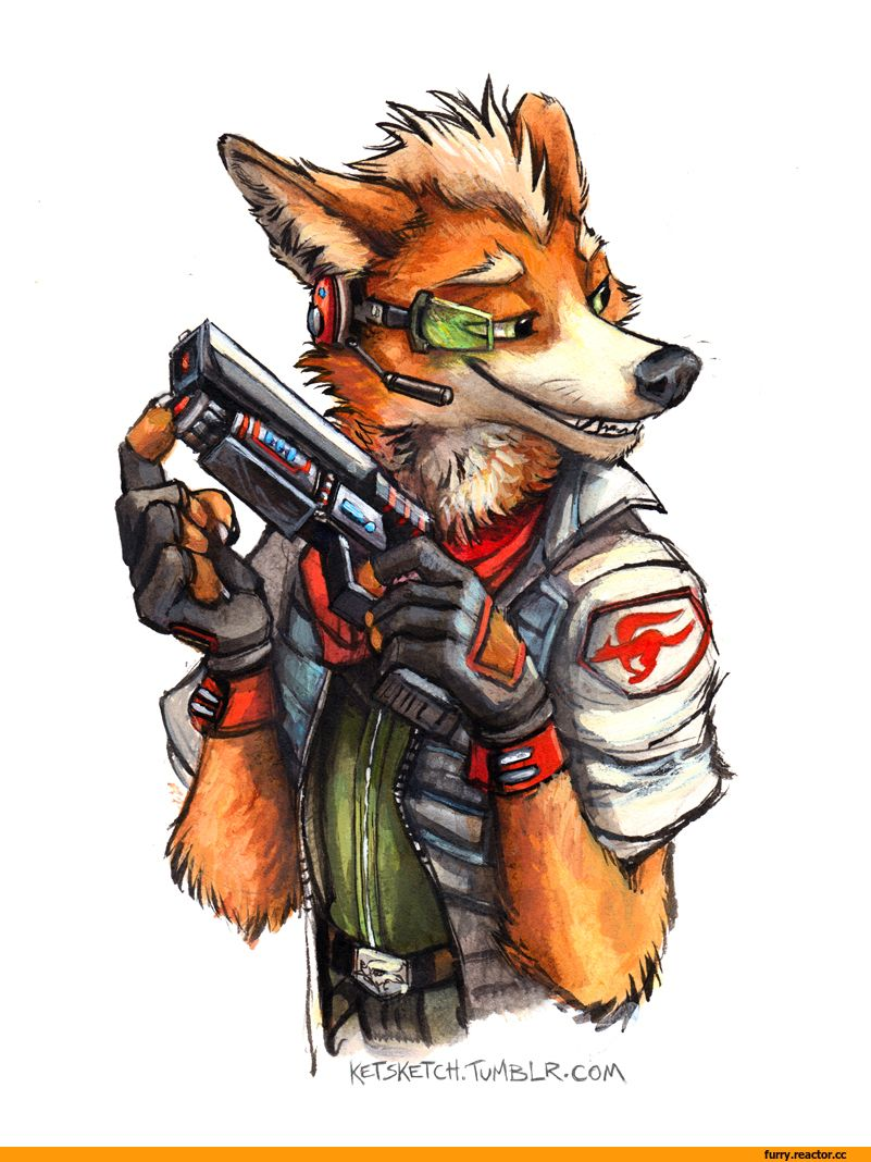 Blitz reccomend Star fox furry facial