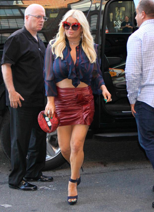 Pics of jessica simpson fat