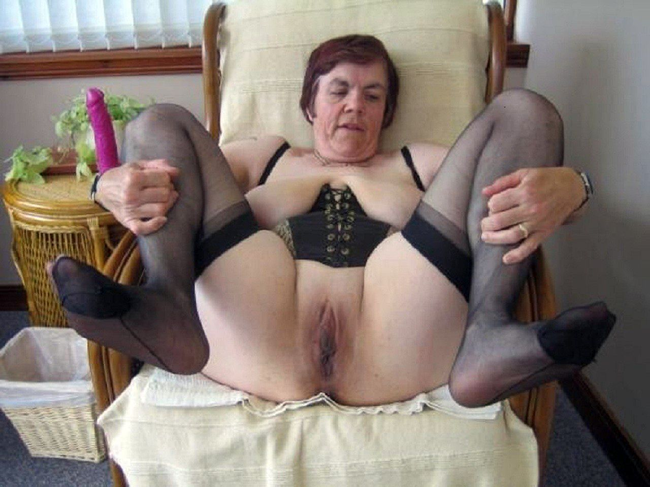 Amateur mature enema