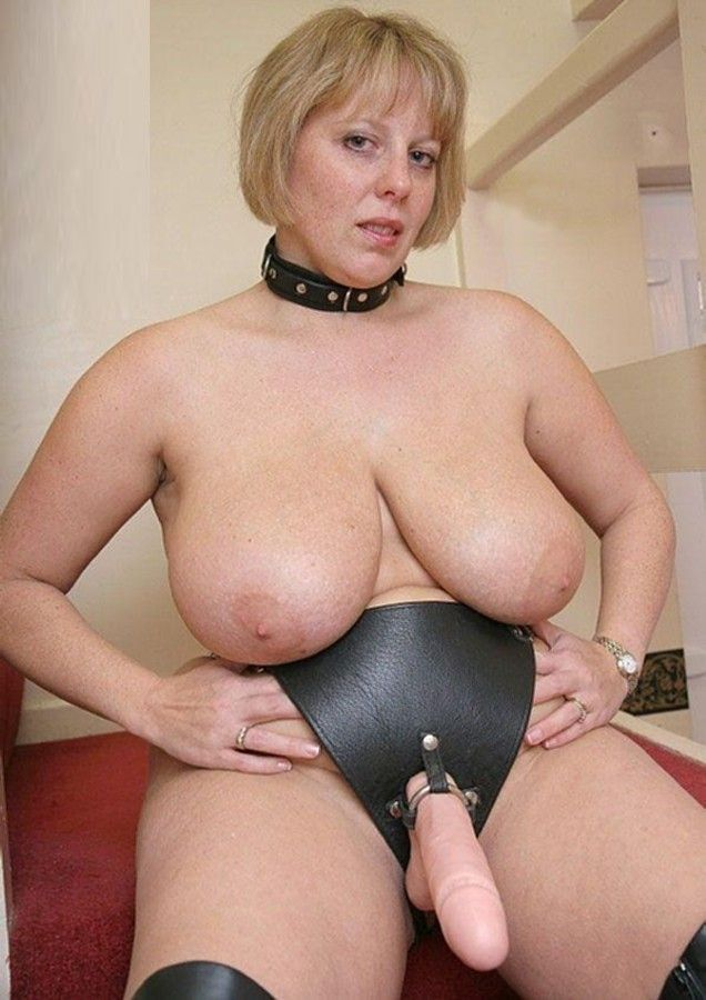 Porn pictures strap on bbw