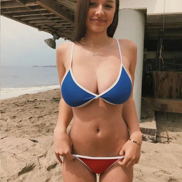Hydraulics reccomend Big bikini boob girl