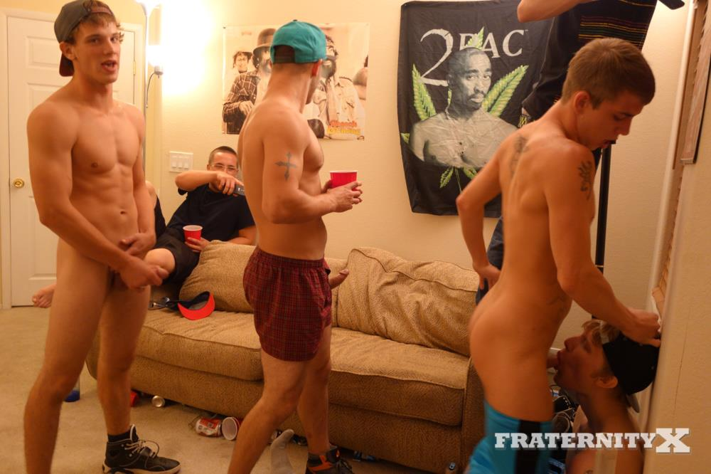Big dick frat boys