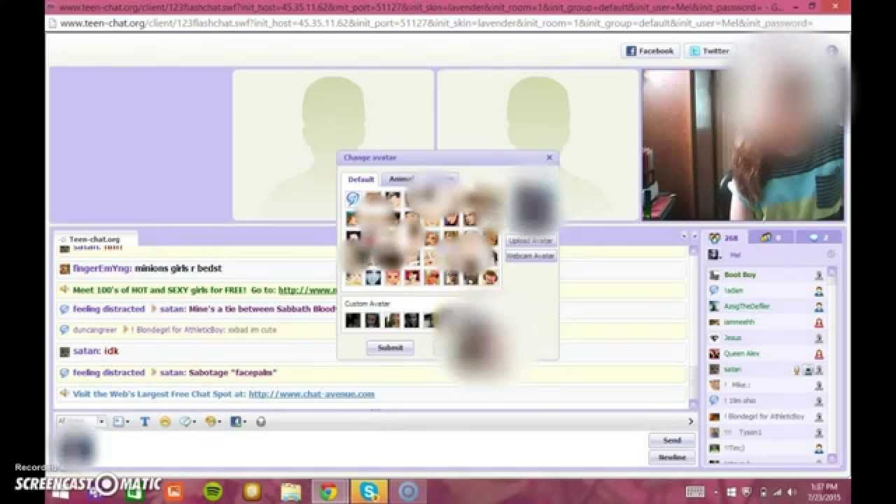 Joker reccomend Teen chat