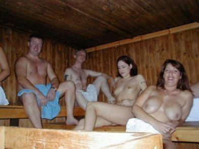 Nackte echte Paare Saunabilder — foto 5