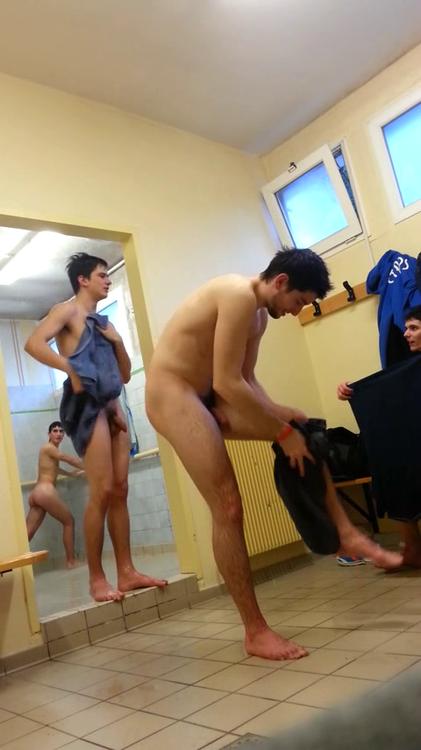 best of Straight room pissing In locker jock