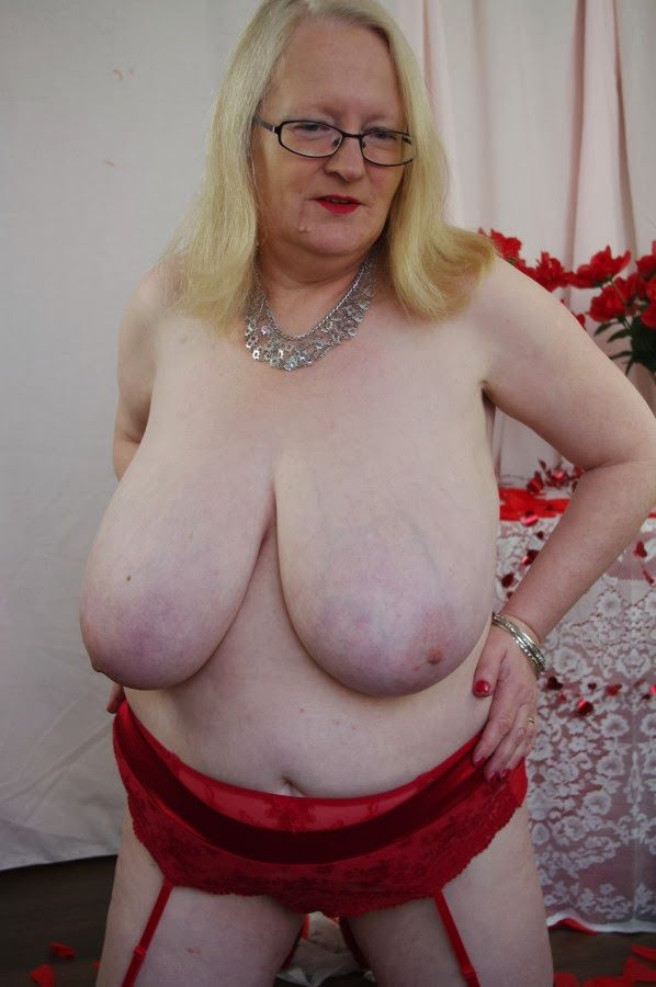 best of Large woman Boob older very