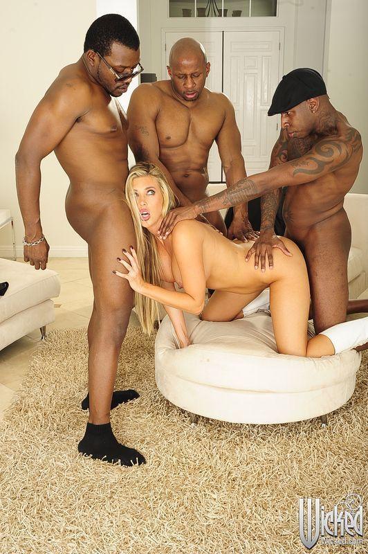 Interracial porn galleries shocking