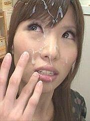 Japanese bukkake bad