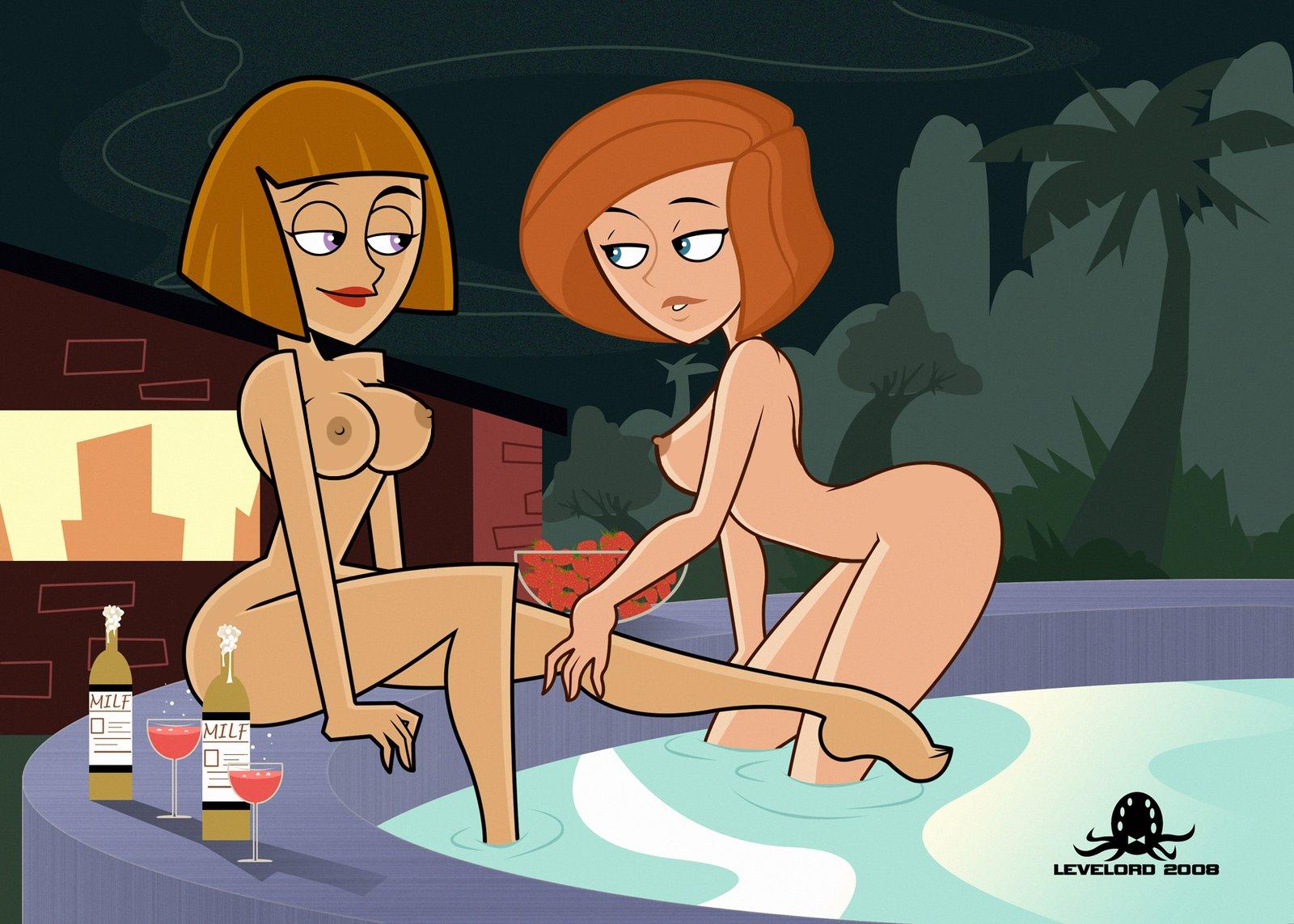 Young girl naked skank