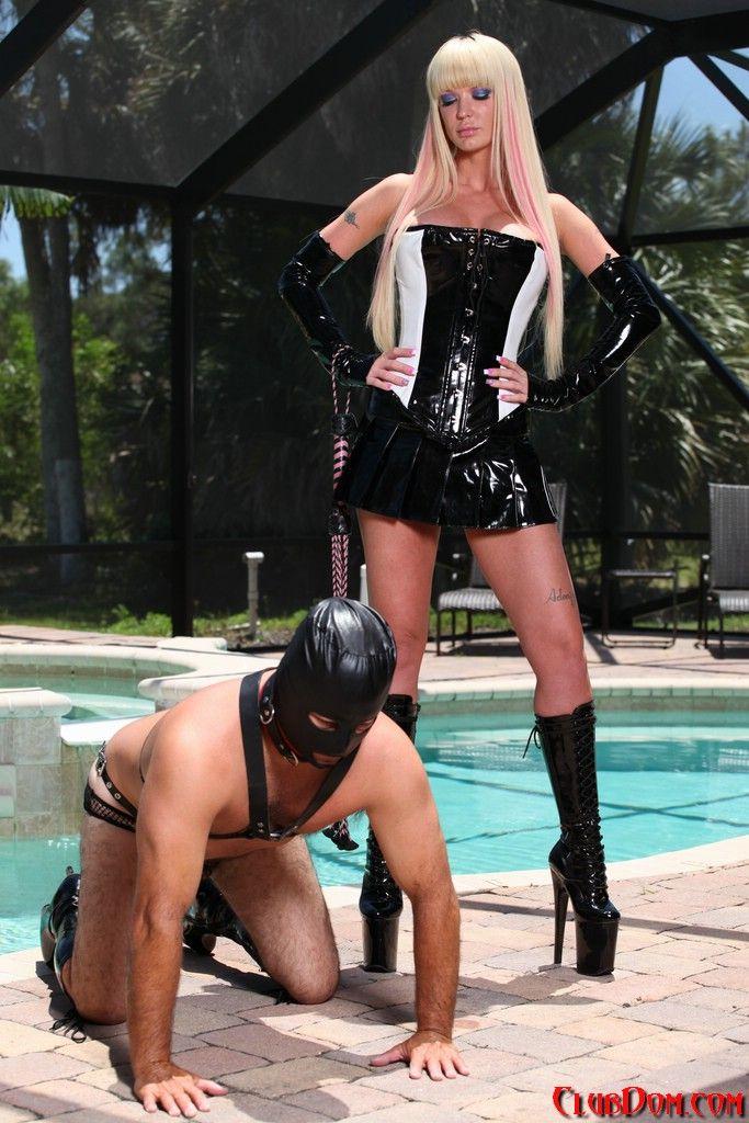 best of Slave leash Femdom