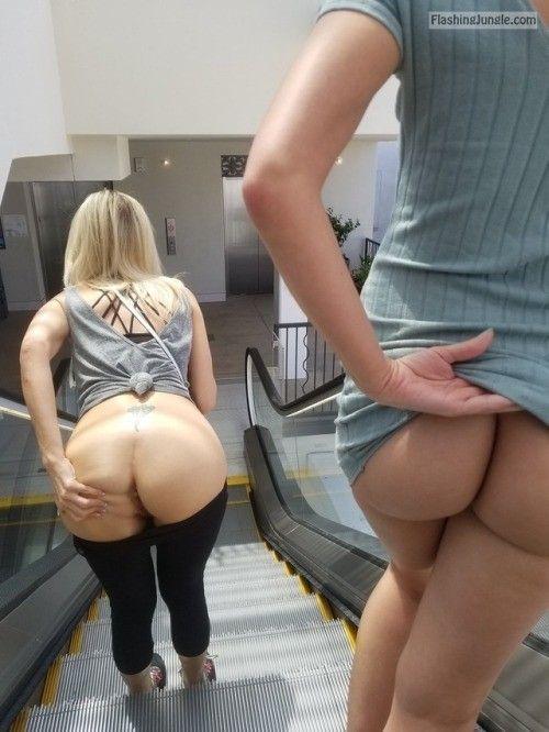 Butt pic upskirt