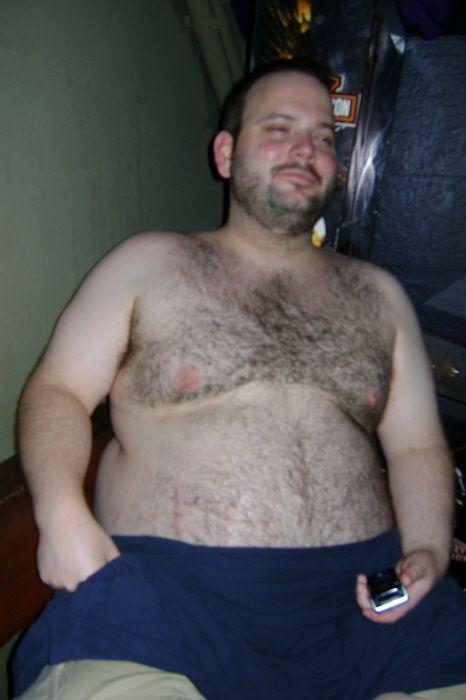 Chubby hairy men