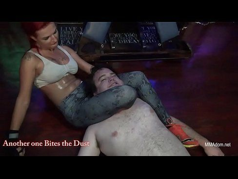 Mixed leg scissors domination with