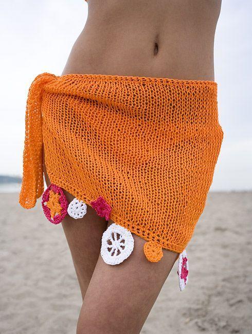 Knitted bikini pattern