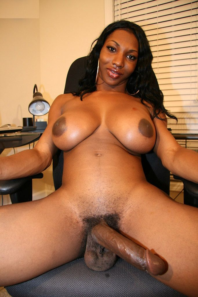 dick tranny biggest ebony