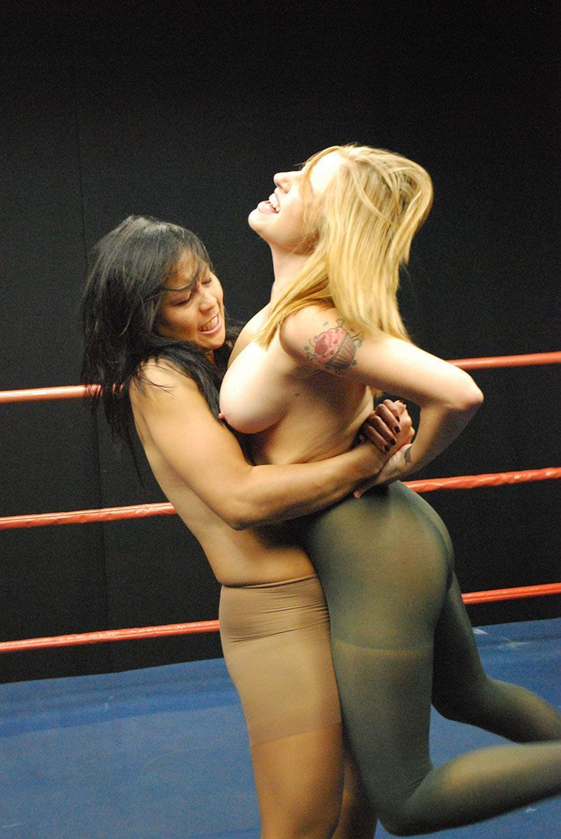 Female pantyhose wrestling