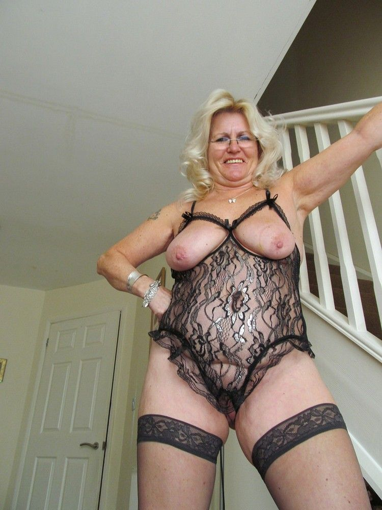 Stocking erotica granny