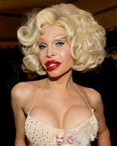 best of Boobs Amanda lepore shows