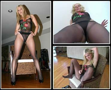 best of Steel pantyhose Ashley