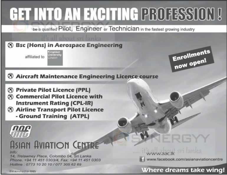 Hydraulics reccomend Asian aviation centre sri lanka