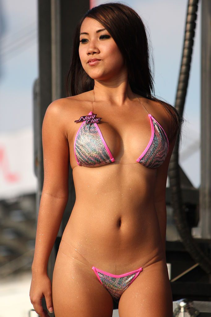 Judge reccomend Asian bikini contest photo galleries
