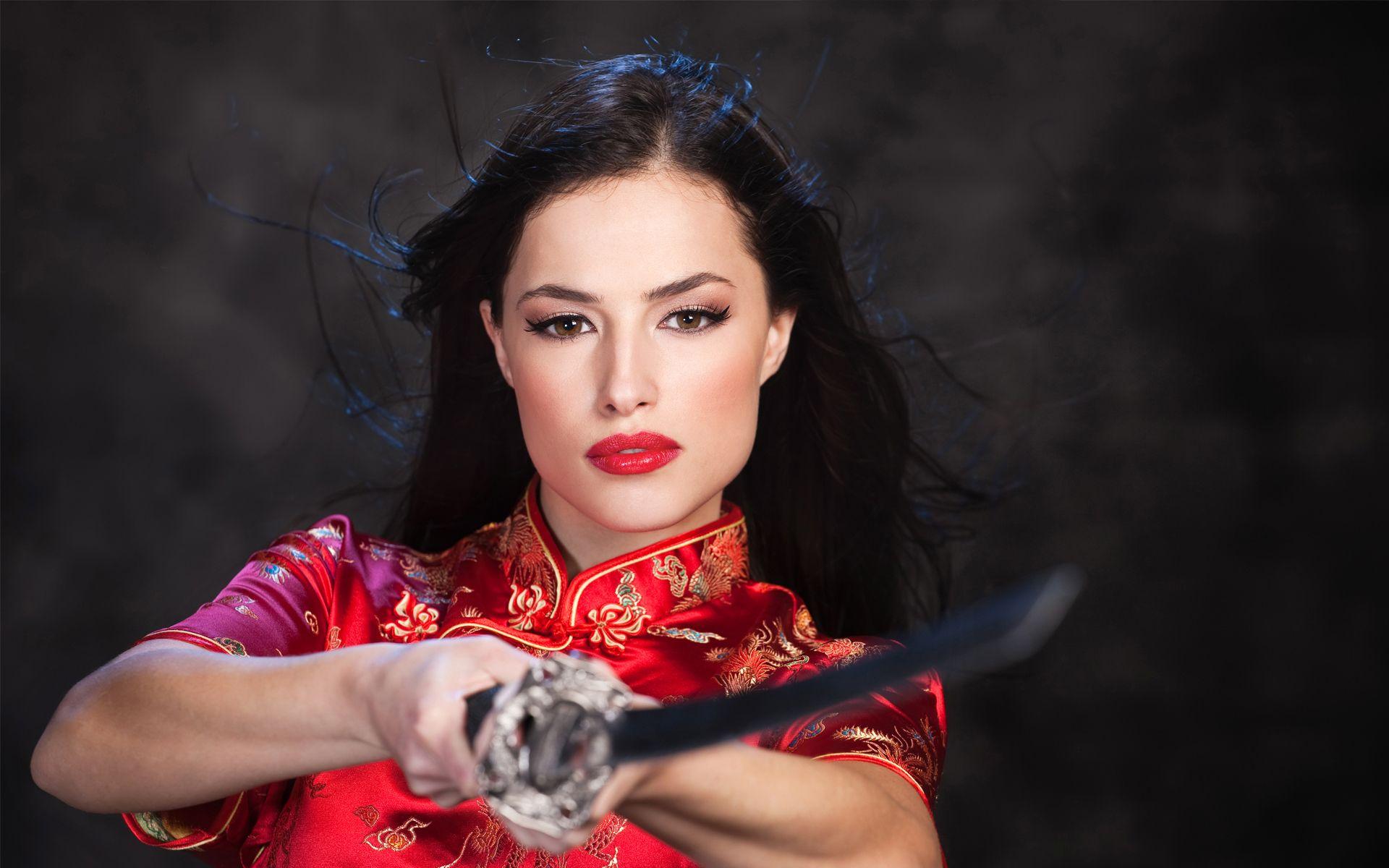 Asian oriental women