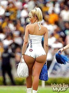 Ass butt cheerleader crotch