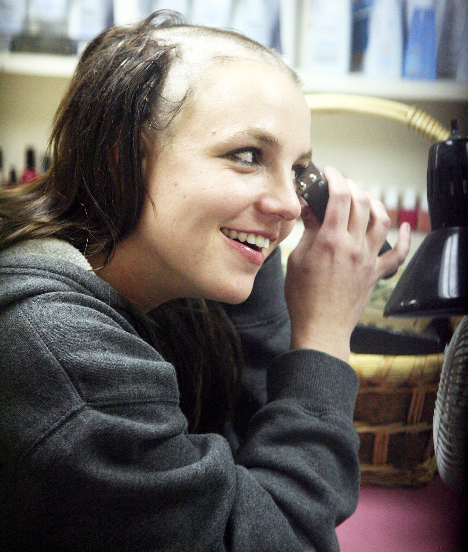 best of Spear head Bald britney her shaved
