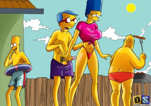 Agree, remarkable simpsons marge pising xxx can not